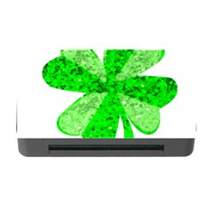 St Patricks Day Shamrock Green Memory Card Reader With Cf by Nexatart