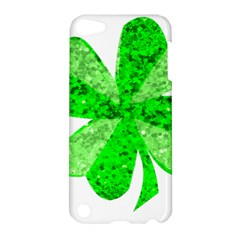 St Patricks Day Shamrock Green Apple Ipod Touch 5 Hardshell Case by Nexatart