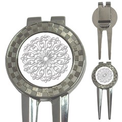Scrapbook Side Lace Tag Element 3 In 1 Golf Divots by Nexatart