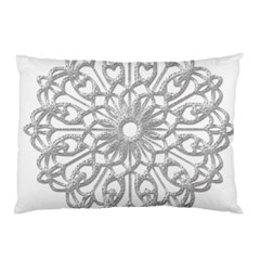 Scrapbook Side Lace Tag Element Pillow Case (two Sides) by Nexatart