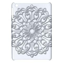Scrapbook Side Lace Tag Element Apple Ipad Mini Hardshell Case by Nexatart