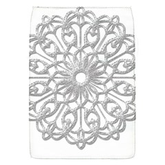 Scrapbook Side Lace Tag Element Flap Covers (s)  by Nexatart