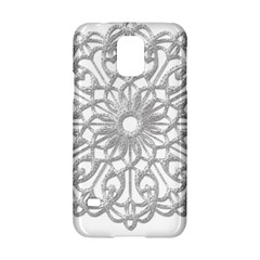Scrapbook Side Lace Tag Element Samsung Galaxy S5 Hardshell Case  by Nexatart