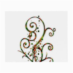 Scroll Magic Fantasy Design Small Glasses Cloth by Nexatart