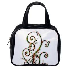Scroll Magic Fantasy Design Classic Handbags (one Side) by Nexatart