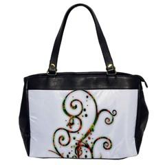 Scroll Magic Fantasy Design Office Handbags by Nexatart