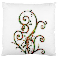 Scroll Magic Fantasy Design Large Cushion Case (two Sides) by Nexatart
