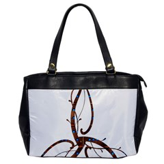 Abstract Shape Stylized Designed Office Handbags by Nexatart