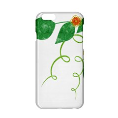 Scrapbook Green Nature Grunge Apple Iphone 6/6s Hardshell Case by Nexatart