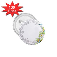 Scrapbook Element Lace Embroidery 1 75  Buttons (100 Pack)  by Nexatart