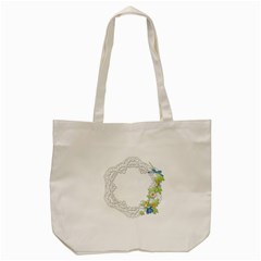 Scrapbook Element Lace Embroidery Tote Bag (cream) by Nexatart