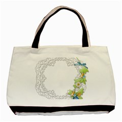 Scrapbook Element Lace Embroidery Basic Tote Bag by Nexatart