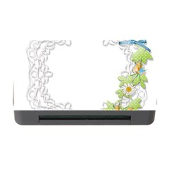 Scrapbook Element Lace Embroidery Memory Card Reader With Cf by Nexatart