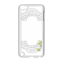 Scrapbook Element Lace Embroidery Apple Ipod Touch 5 Case (white) by Nexatart