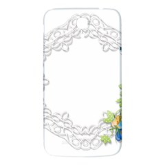 Scrapbook Element Lace Embroidery Samsung Galaxy Mega I9200 Hardshell Back Case by Nexatart