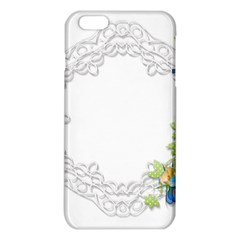Scrapbook Element Lace Embroidery Iphone 6 Plus/6s Plus Tpu Case by Nexatart