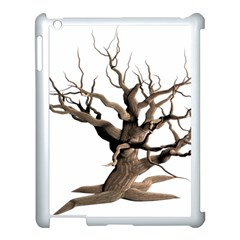 Tree Isolated Dead Plant Weathered Apple Ipad 3/4 Case (white) by Nexatart