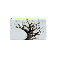 Tree Isolated Dead Plant Weathered Cosmetic Bag (xs) by Nexatart