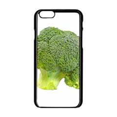 Broccoli Bunch Floret Fresh Food Apple Iphone 6/6s Black Enamel Case
