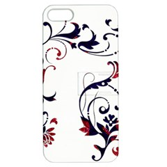 Scroll Border Swirls Abstract Apple Iphone 5 Hardshell Case With Stand by Nexatart