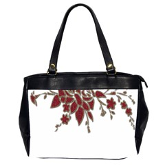 Scrapbook Element Nature Flowers Office Handbags (2 Sides)  by Nexatart