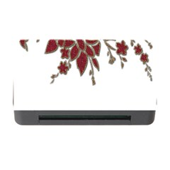 Scrapbook Element Nature Flowers Memory Card Reader With Cf by Nexatart