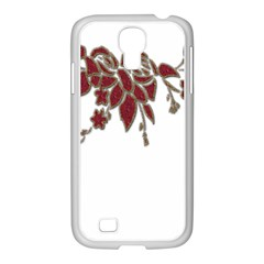 Scrapbook Element Nature Flowers Samsung Galaxy S4 I9500/ I9505 Case (white) by Nexatart