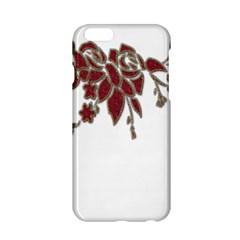 Scrapbook Element Nature Flowers Apple Iphone 6/6s Hardshell Case by Nexatart