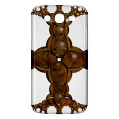 Cross Golden Cross Design 3d Samsung Galaxy Mega 5 8 I9152 Hardshell Case  by Nexatart