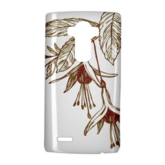 Floral Spray Gold And Red Pretty Lg G4 Hardshell Case by Nexatart