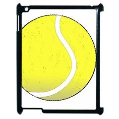 Tennis Ball Ball Sport Fitness Apple Ipad 2 Case (black) by Nexatart