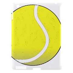 Tennis Ball Ball Sport Fitness Apple Ipad 3/4 Hardshell Case (compatible With Smart Cover) by Nexatart