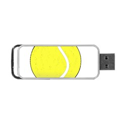 Tennis Ball Ball Sport Fitness Portable Usb Flash (two Sides) by Nexatart