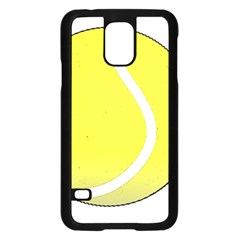 Tennis Ball Ball Sport Fitness Samsung Galaxy S5 Case (black) by Nexatart