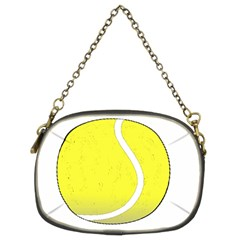 Tennis Ball Ball Sport Fitness Chain Purses (two Sides)  by Nexatart
