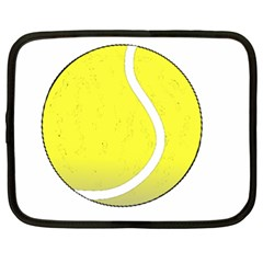Tennis Ball Ball Sport Fitness Netbook Case (XL)