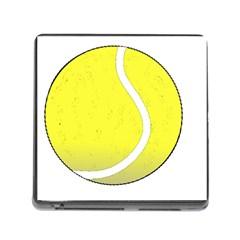 Tennis Ball Ball Sport Fitness Memory Card Reader (square) by Nexatart