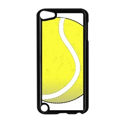 Tennis Ball Ball Sport Fitness Apple Ipod Touch 5 Case (black) by Nexatart