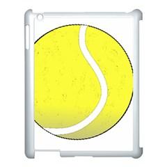 Tennis Ball Ball Sport Fitness Apple Ipad 3/4 Case (white) by Nexatart