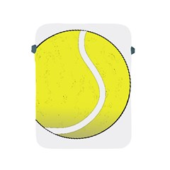 Tennis Ball Ball Sport Fitness Apple Ipad 2/3/4 Protective Soft Cases by Nexatart