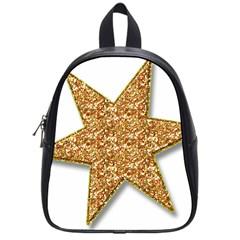 Star Glitter School Bags (small)  by Nexatart
