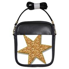 Star Glitter Girls Sling Bags by Nexatart