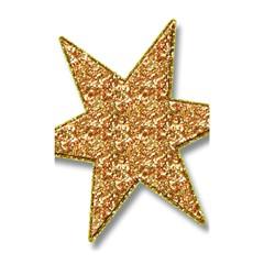Star Glitter Shower Curtain 48  X 72  (small)  by Nexatart
