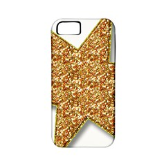 Star Glitter Apple Iphone 5 Classic Hardshell Case (pc+silicone) by Nexatart