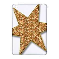Star Glitter Apple Ipad Mini Hardshell Case (compatible With Smart Cover) by Nexatart