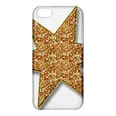 Star Glitter Apple Iphone 5c Hardshell Case by Nexatart