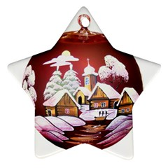 Christmas Decor Christmas Ornaments Star Ornament (two Sides) by Nexatart