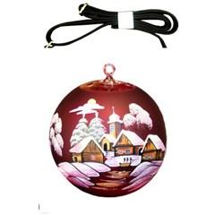 Christmas Decor Christmas Ornaments Shoulder Sling Bags by Nexatart