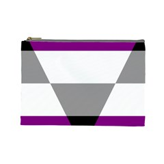 Aegosexual Autochorissexual Flag Cosmetic Bag (large)  by Mariart