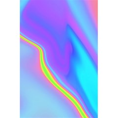 Aurora Color Rainbow Space Blue Sky Purple Yellow 5 5  X 8 5  Notebooks by Mariart